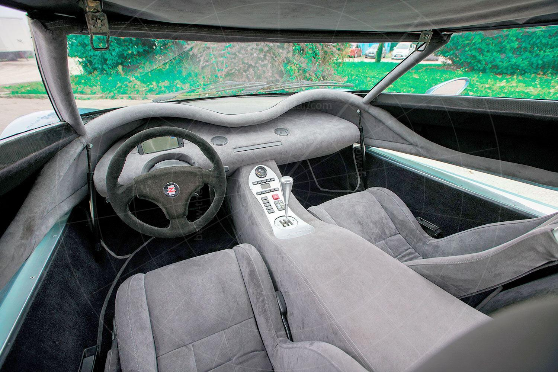 Zagato Raptor interior Pic: RM Sothebys   Zagato Raptor interior