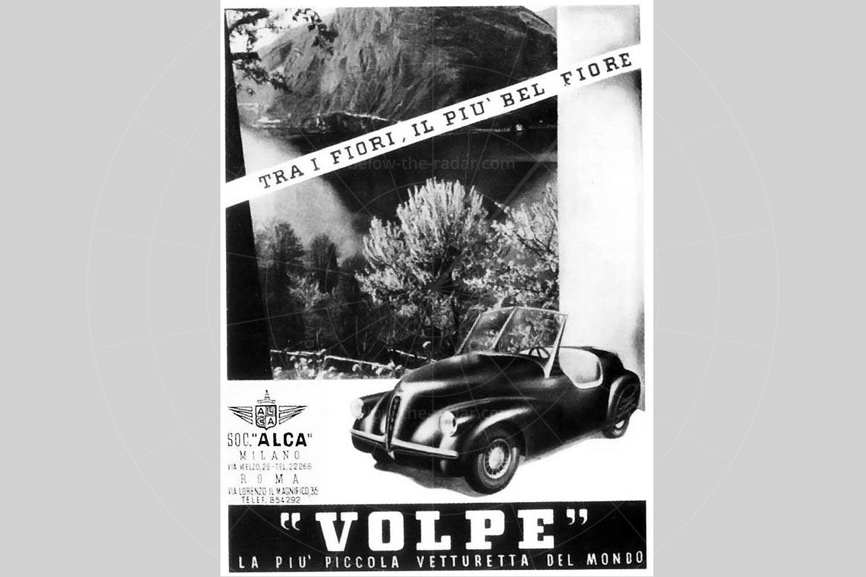 ALCA Volpe advert Pic: magiccarpics.co.uk | ALCA Volpe advert