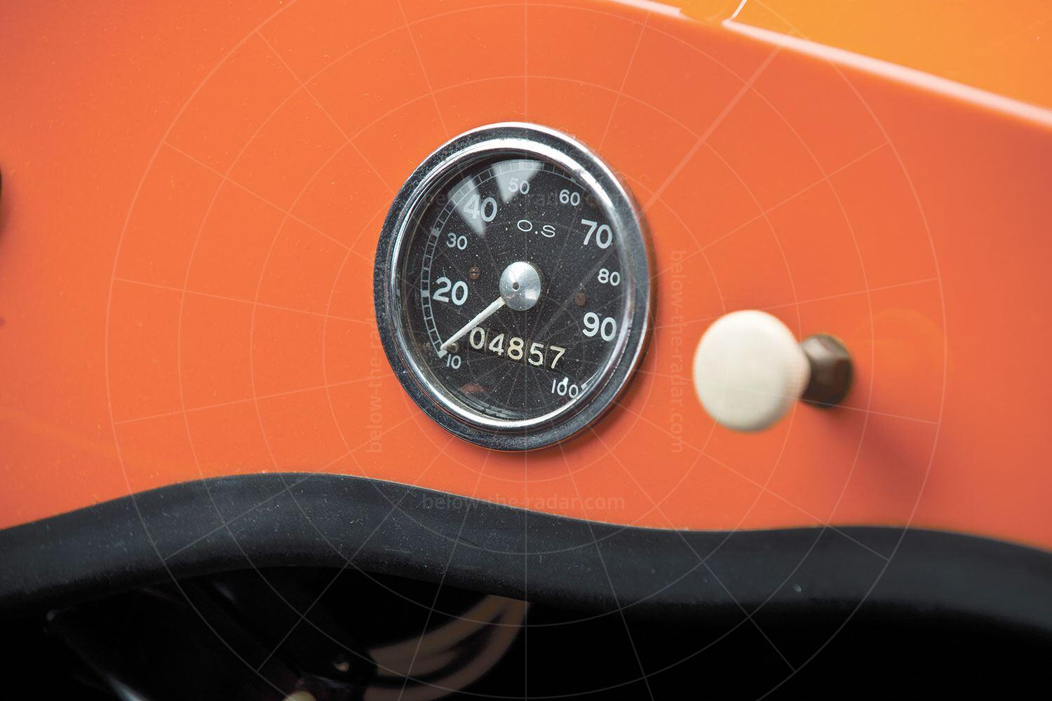 Avolette Record Deluxe dashboard Pic: RM Sotheby's | Avolette Record Deluxe dashboard