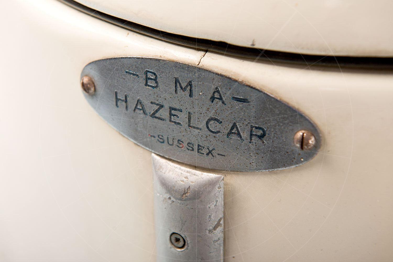 BMA Hazelcar badge Pic: RM Sotheby's | BMA Hazelcar badge