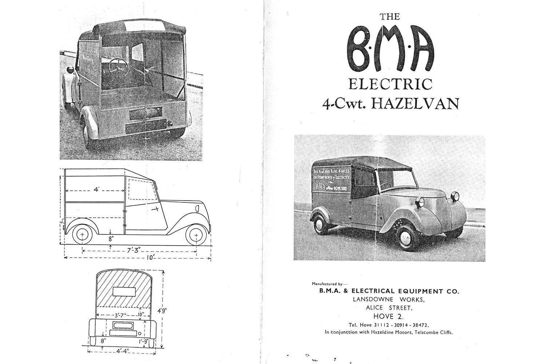 BMA Hazelvan brochure Pic: hazelcar.co.uk | BMA Hazelvan brochure