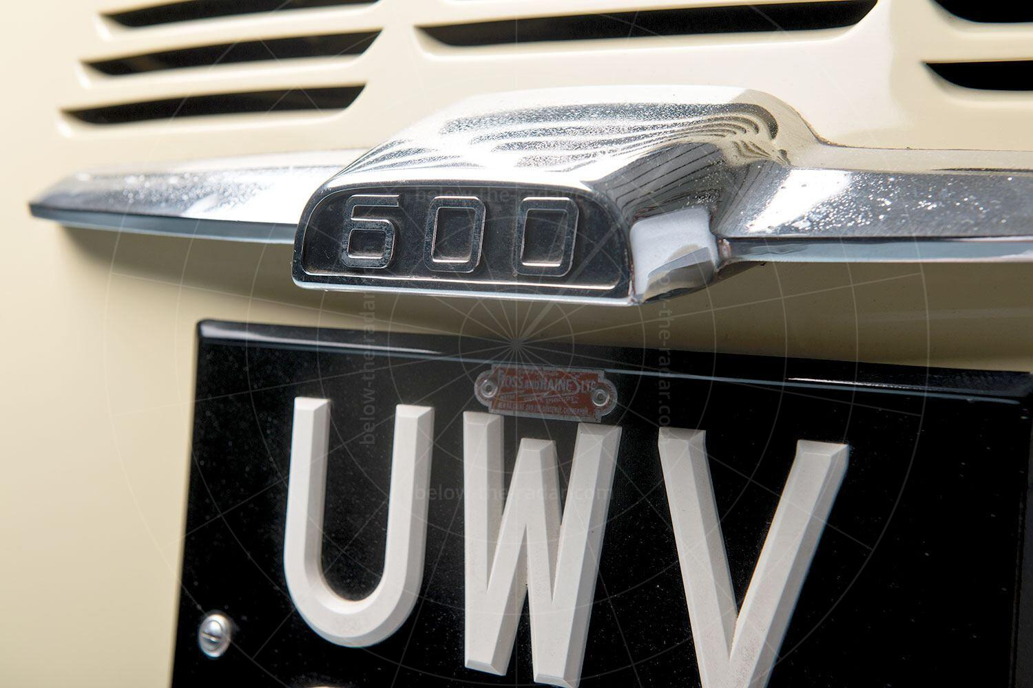 BMW 600 badge Pic: RM Sotheby's | BMW 600 badge