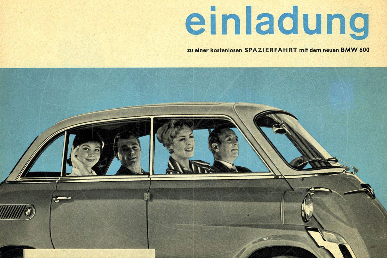 BMW 600 brochure Pic: magiccarpics.co.uk | BMW 600 brochure