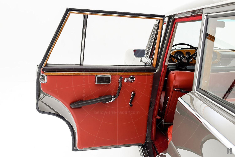 Bentley S2 Wendler shooting brake - back door trim Pic: Hyman Ltd | Bentley S2 Wendler shooting brake - back door trim