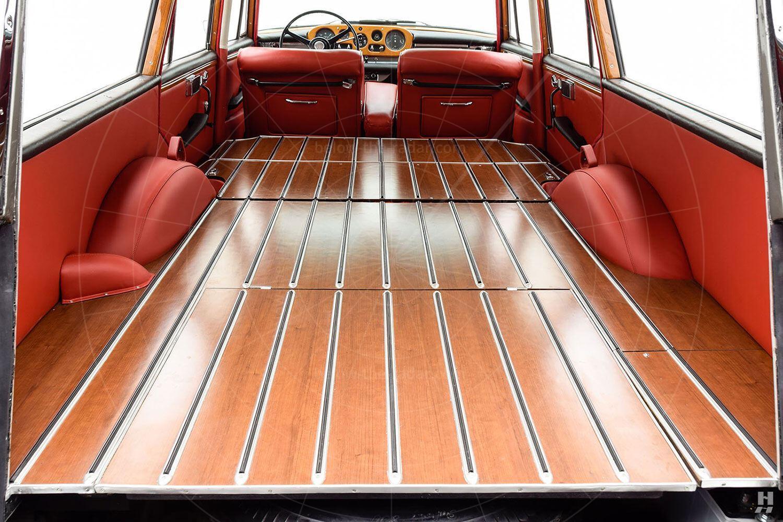 Bentley S2 Wendler shooting brake - load bay Pic: Hyman Ltd | Bentley S2 Wendler shooting brake - load bay