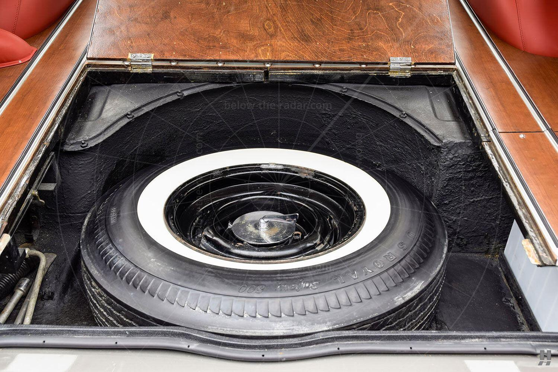 Bentley S2 Wendler shooting brake - spare wheel Pic: Hyman Ltd | Bentley S2 Wendler shooting brake - spare wheel