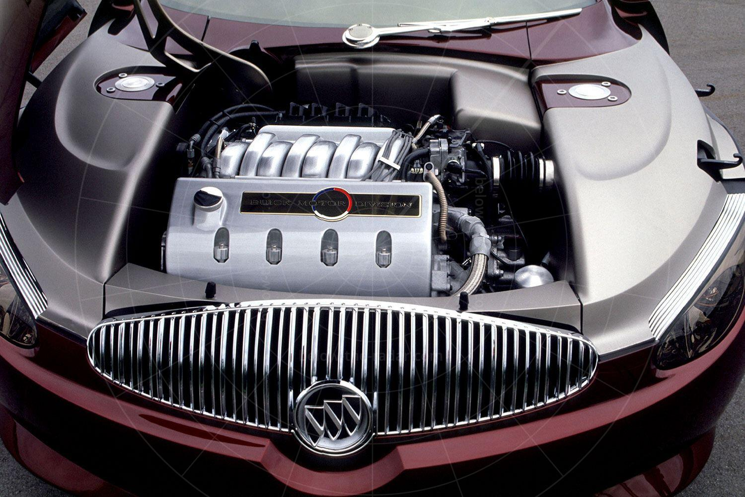 Buick LaCrosse concept engine bay Pic: Buick | Buick LaCrosse concept engine bay