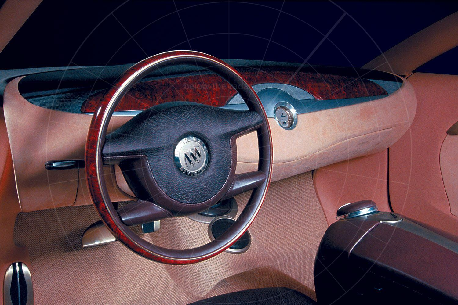 Buick LaCrosse concept dashboard Pic: Buick | Buick LaCrosse concept dashboard