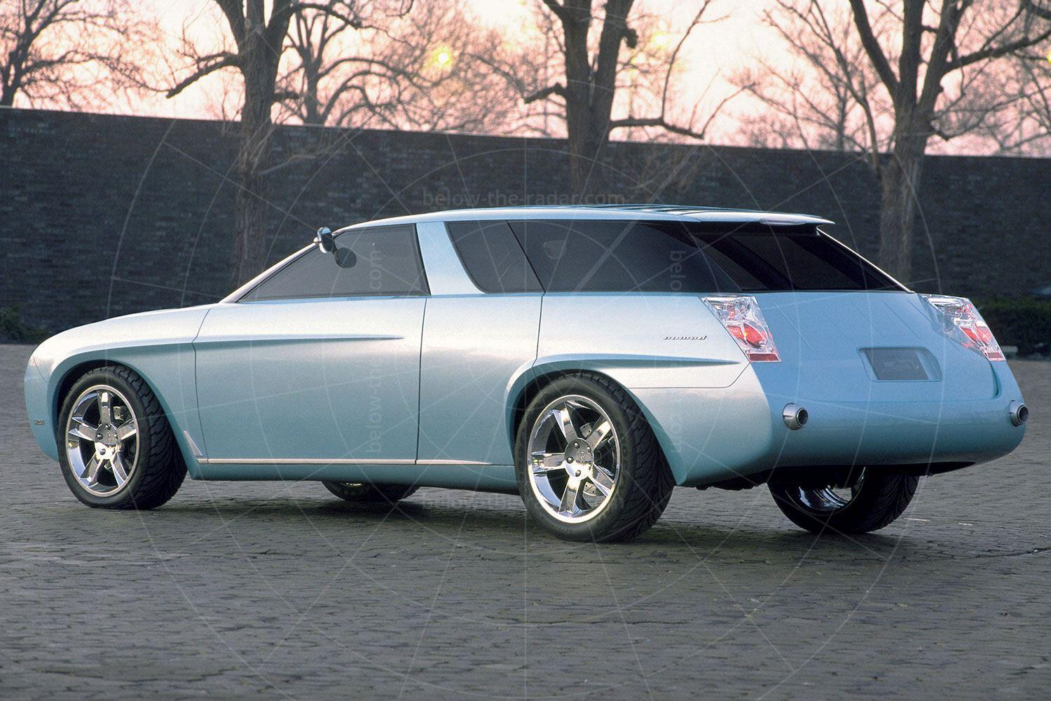 The 1999 Chevrolet Nomad concept Pic: GM | The 1999 Chevrolet Nomad concept