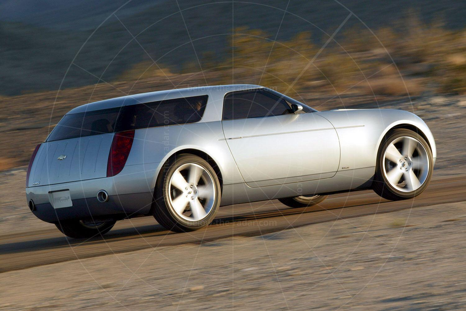 The 2004 Chevrolet Nomad concept Pic: GM | The 2004 Chevrolet Nomad concept