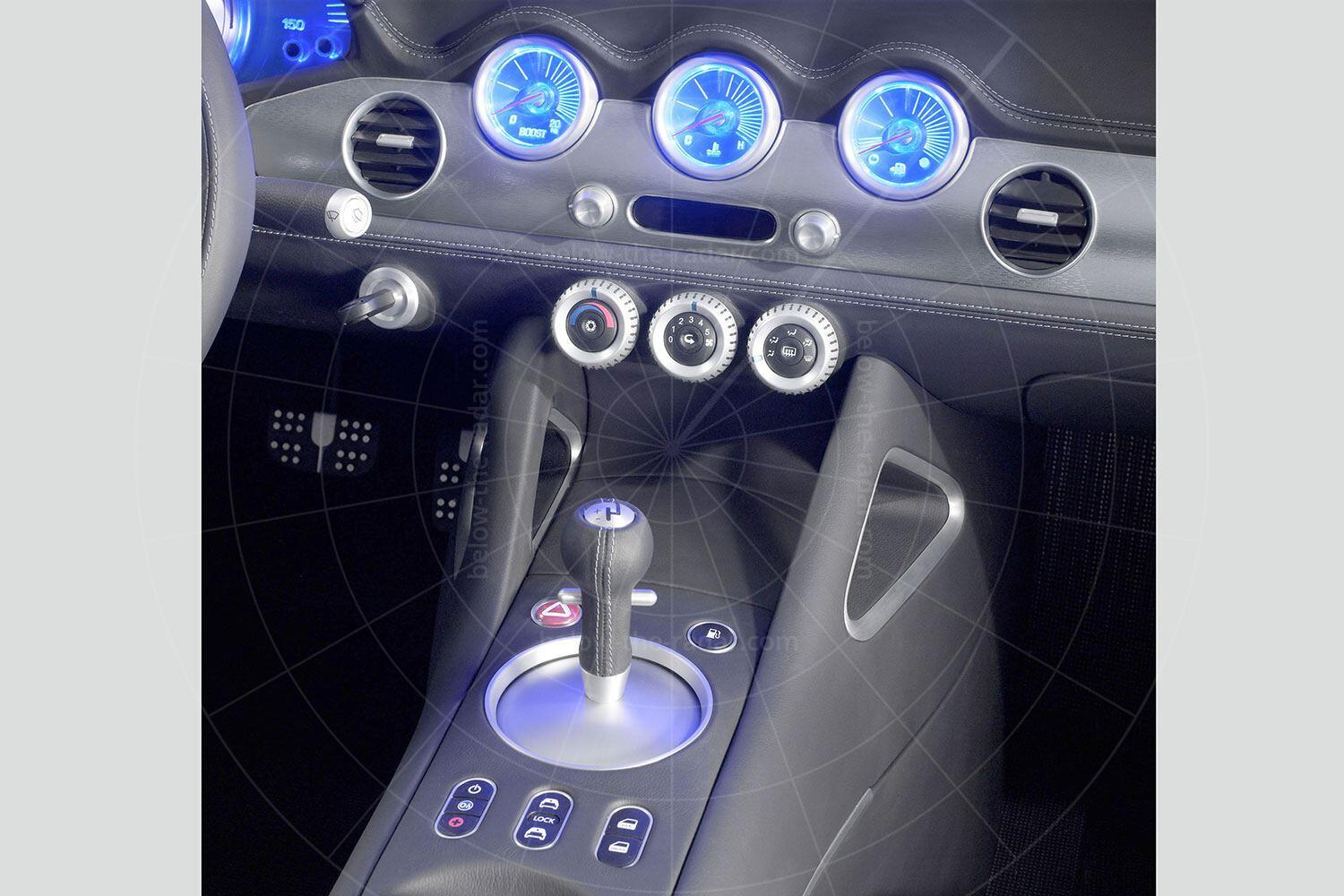 The 2004 Chevrolet Nomad concept - dashboard Pic: GM | The 2004 Chevrolet Nomad concept - dashboard