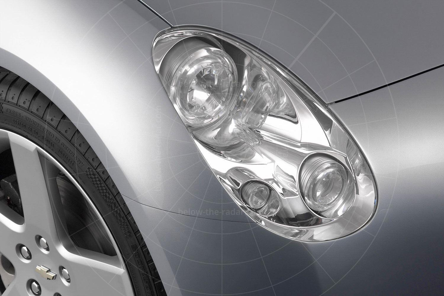 The 2004 Chevrolet Nomad concept - headlight Pic: GM | The 2004 Chevrolet Nomad concept - headlight