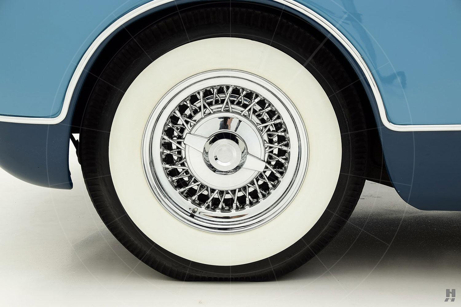 Chrysler Ghia special coupé front wheel Pic: Hyman Ltd | Chrysler Ghia special coupé front wheel