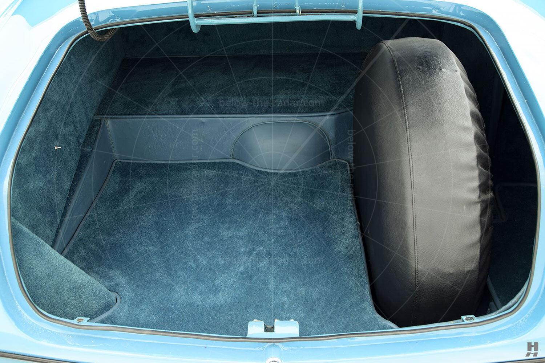 Chrysler Ghia special coupé boot Pic: Hyman Ltd |