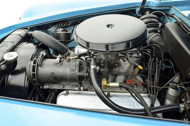 Chrysler Ghia special coupé Pic: Hyman Ltd | Chrysler Ghia special coupé engine bay