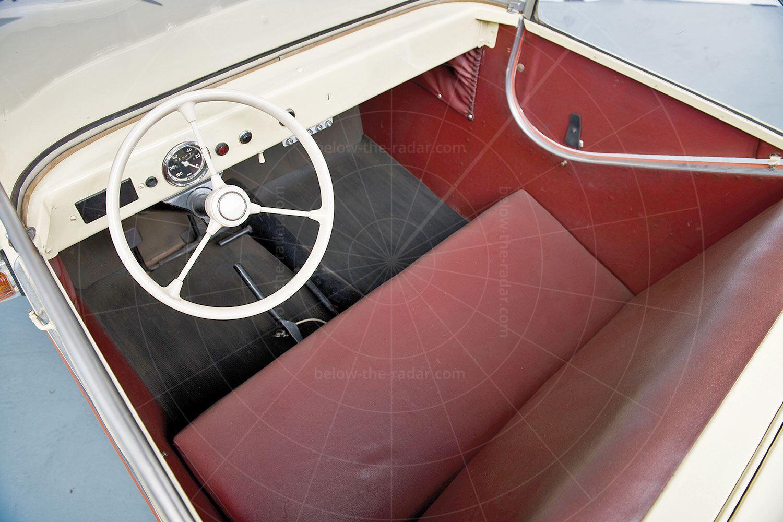 Daus microcar prototype interior Pic: RM Sotheby's   Daus microcar prototype interior
