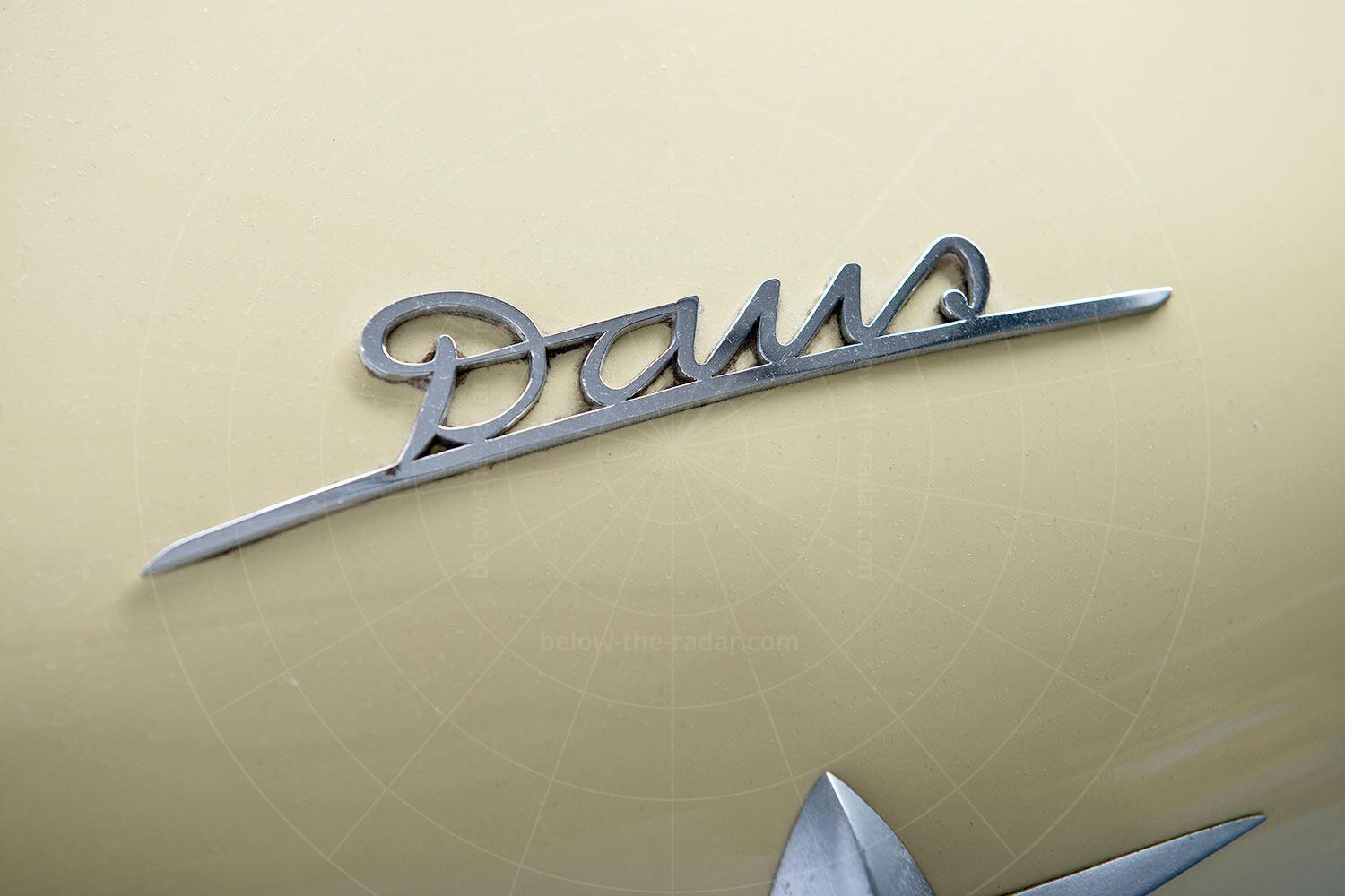 Daus microcar prototype badge Pic: RM Sotheby's   Daus microcar prototype badge