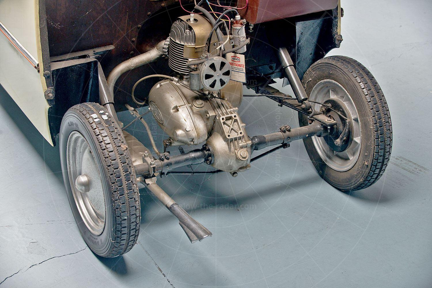 Daus microcar prototype engine Pic: RM Sotheby's   Daus microcar prototype engine