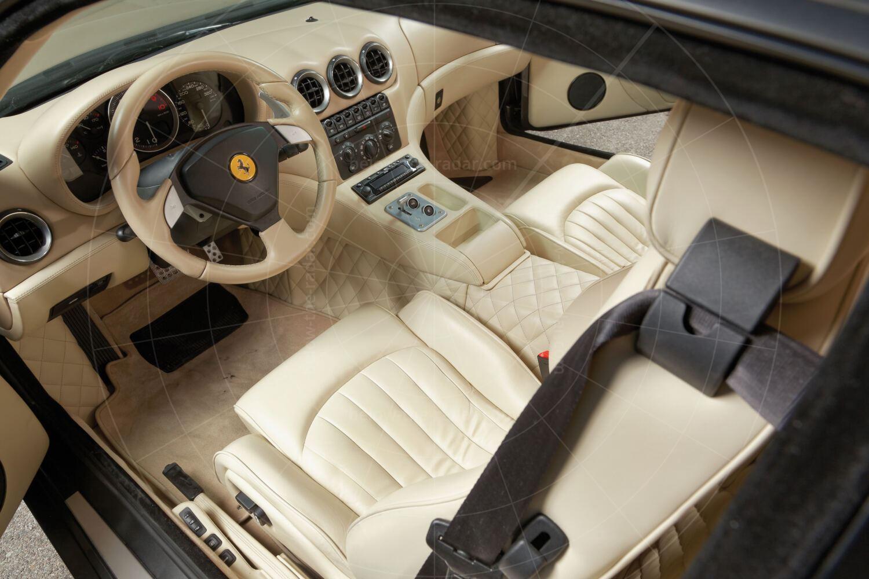 Ferrari 575GTZ by Zagato interior Pic: RM Sotheby's   Ferrari 575GTZ by Zagato interior