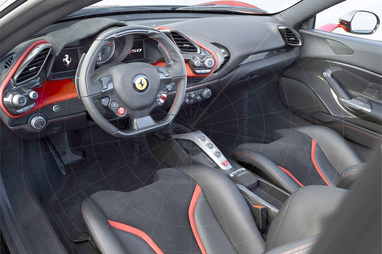 Ferrari J50 interior Pic: Ferrari   Ferrari J50 interior