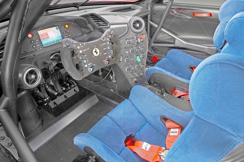 Ferrari P80/C interior Pic: Ferrari | Ferrari P80/C interior