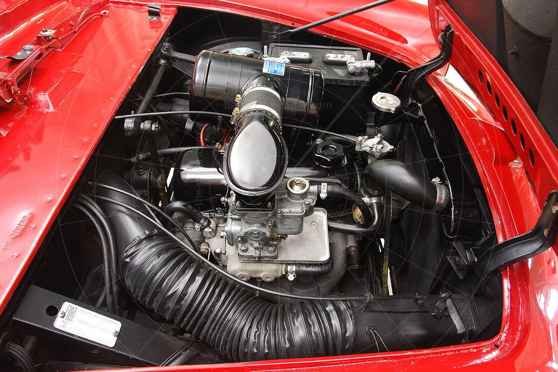 Fiat 1100 TV Trasformabil engine bay Pic: Hyman Ltd | Fiat 1100 TV Trasformabil engine bay