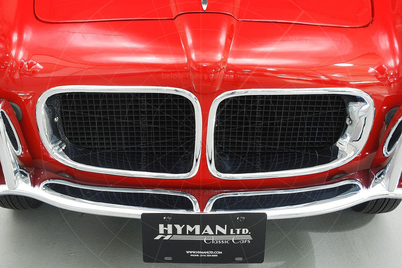 Fiat 1100 TV Trasformabil grille Pic: Hyman Ltd | Fiat 1100 TV Trasformabil grille