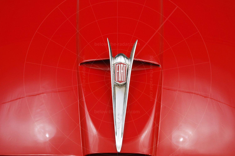 Fiat 1100 TV Trasformabil badge Pic: Hyman Ltd | Fiat 1100 TV Trasformabil badge