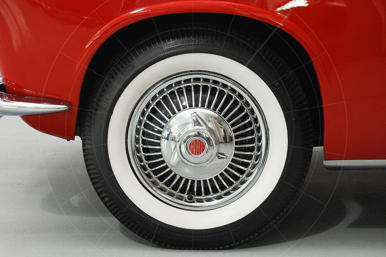 Fiat 1100 TV Trasformabil wheel Pic: Hyman Ltd | Fiat 1100 TV Trasformabil wheel