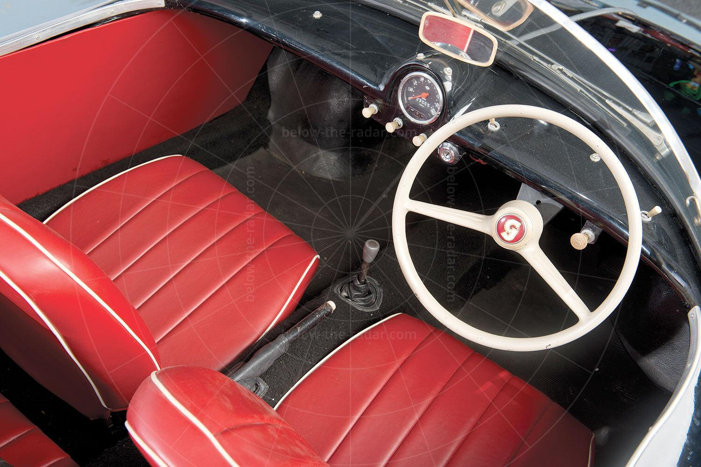 Goggomobil Dart interior Pic: RM Sotheby's | Goggomobil Dart interior