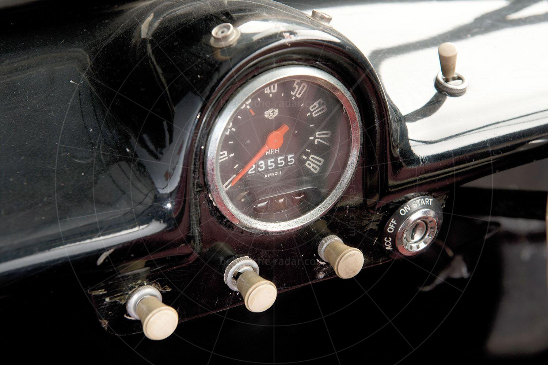 Goggomobil Dart Pic: RM Sotheby's | Goggomobil Dart dashboard