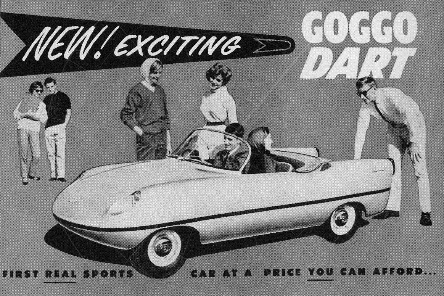 Goggomobil Dart advert Pic: magiccarpics.co.uk | Goggomobil Dart advert
