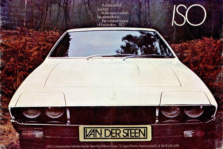 Iso Lele 1972 advert Pic: magiccarpics.co.uk | Iso Lele 1972 advert