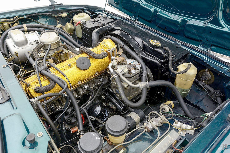 Isuzu 117 Coupé engine bay Pic: Hyman Ltd   Isuzu 117 Coupé engine bay