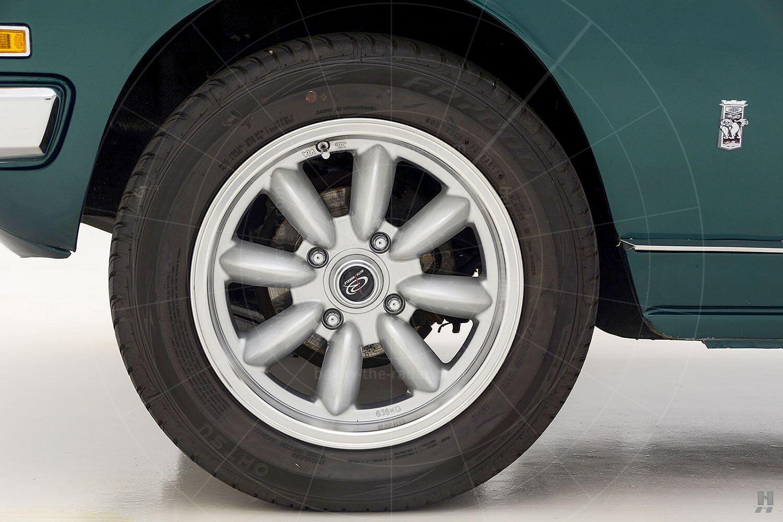 Isuzu 117 Coupé front wheel Pic: Hyman Ltd   Isuzu 117 Coupé front wheel