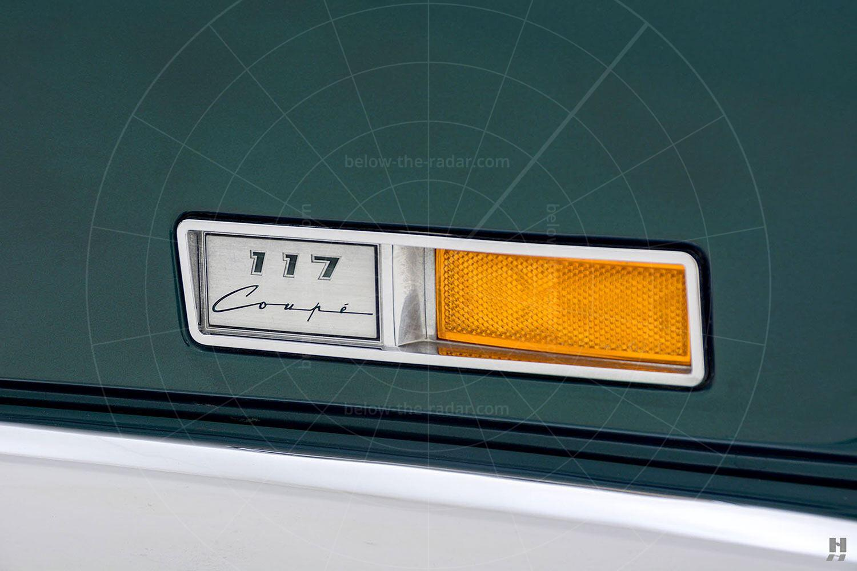 Isuzu 117 Coupé badge Pic: Hyman Ltd   Isuzu 117 Coupé badge