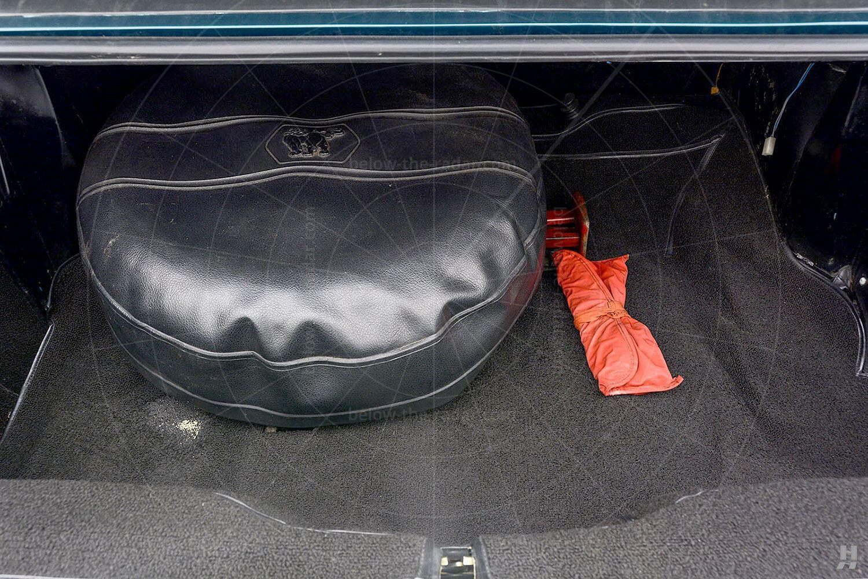 Isuzu 117 Coupé boot Pic: Hyman Ltd   Isuzu 117 Coupé boot