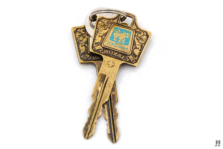 Isuzu 117 Coupé keys Pic: Hyman Ltd   Isuzu 117 Coupé keys