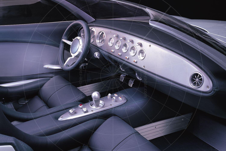 Jaguar F-Type concept dashboard Pic: Jaguar | Jaguar F-Type concept dashboard