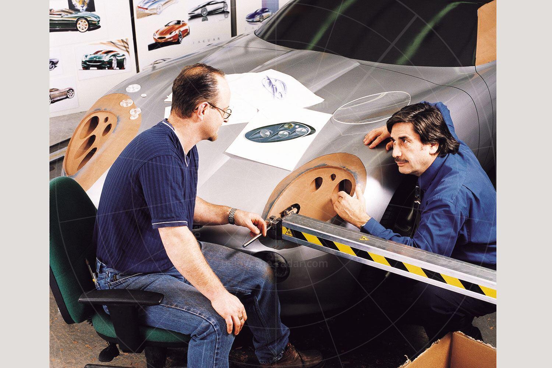 Jaguar F-Type concept construction Pic: Jaguar | Jaguar F-Type concept construction