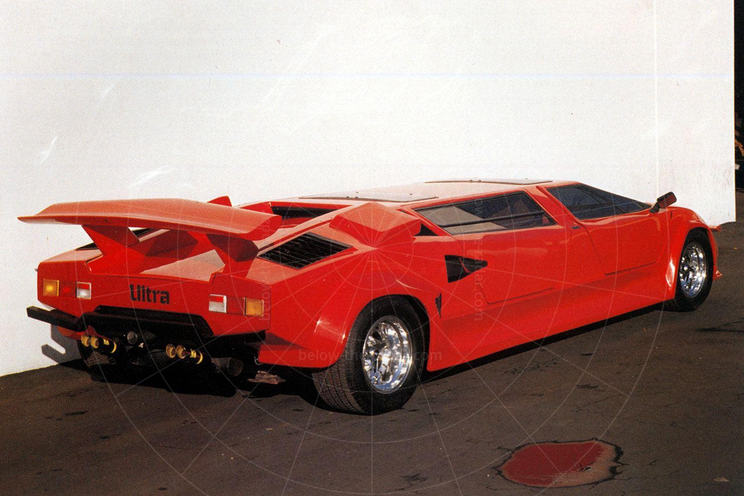 Lamborghini Countach by Ultra Limousines