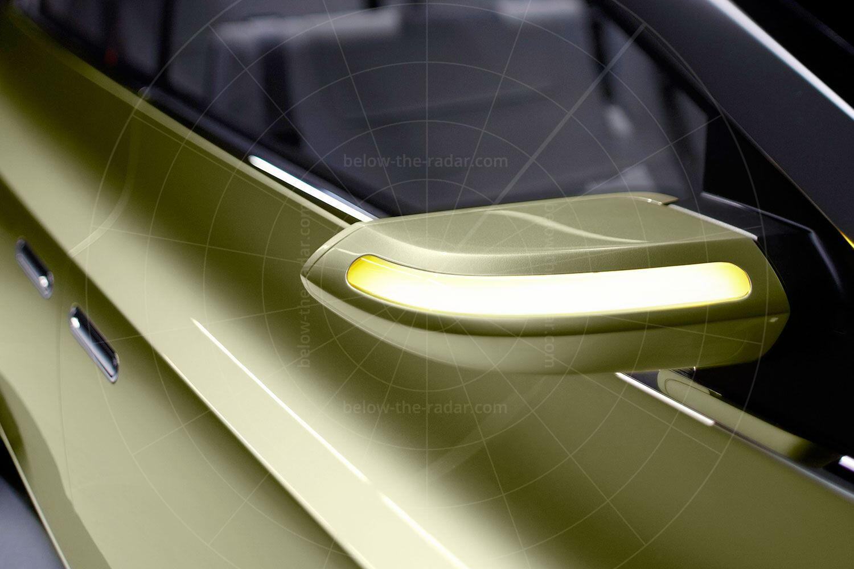 Lincoln C Concept door mirror Pic: Lincoln | Lincoln C concept door mirror