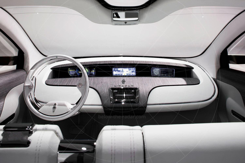 Lincoln C Concept dashboard Pic: Lincoln | Lincoln C concept dashboard