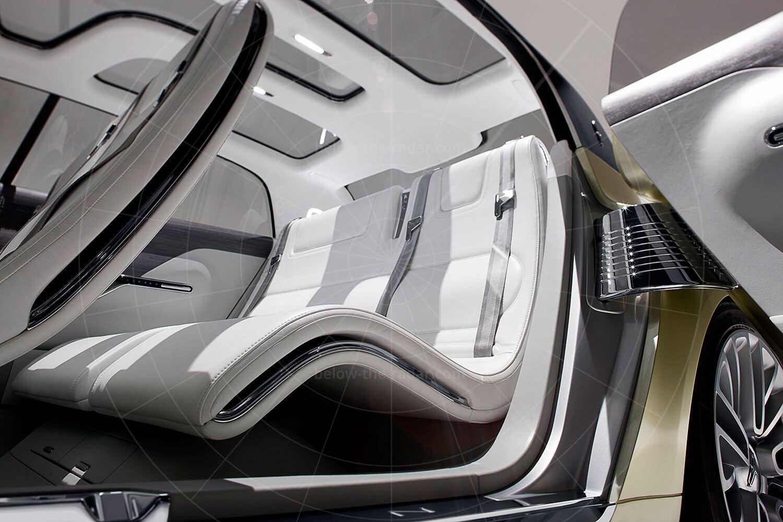 Lincoln C Concept rear seat Pic: Lincoln | Lincoln C concept rear seat