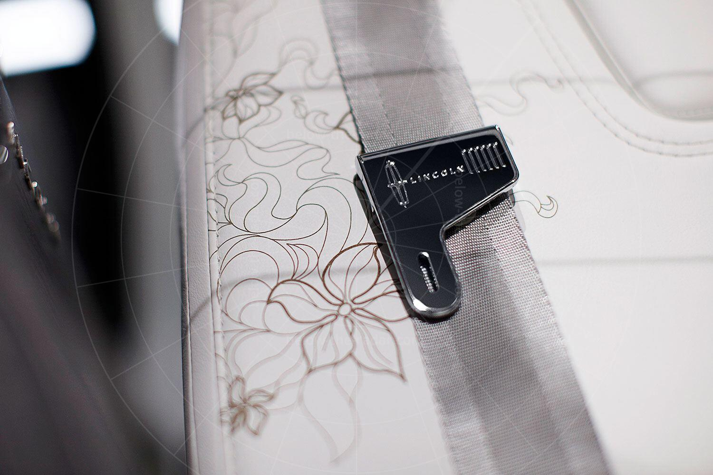 Lincoln C Concept seat fabric Pic: Lincoln | Lincoln C concept seat fabric