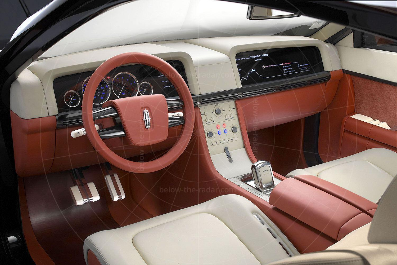 Lincoln Navicross concept dashboard Pic: Lincoln | Lincoln Navicross concept dashboard
