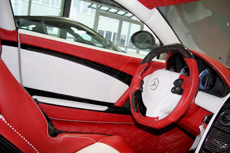 Mercedes SLR Mansory Renovatio - interior Pic: Mansory | Mercedes SLR Mansory Renovatio - interior