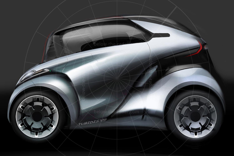 Peugeot BB1 design sketch Pic: Peugeot   Peugeot BB1 design sketch