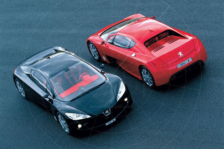 Peugeot RC Spades & RC Diamonds Pic: Peugeot | Peugeot RC Spades & RC Diamonds