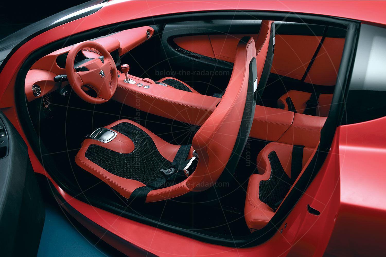 Peugeot RC Diamonds interior Pic: Peugeot | Peugeot RC Diamonds interior